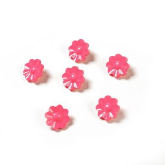 Boutons petites fleurs fuchsia