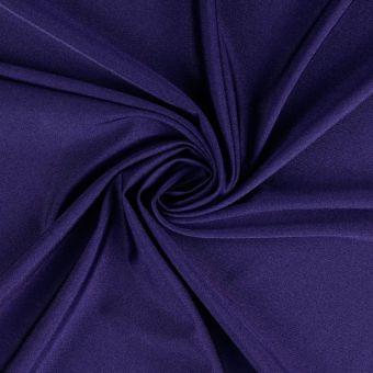 Tissu polyamide uni très extensible bleu marine