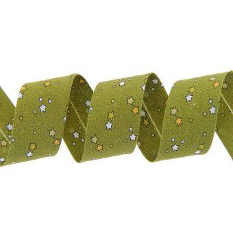 Biais étoiles vert kaki