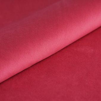 Tissu velours Alisa rose fuchsia