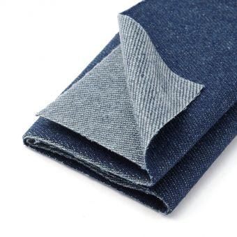 Pièce thermocollante jeans - Bleu Foncé