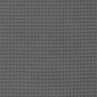Tissu éponge nid d'abeille gris perle