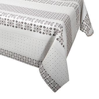 Protège table gris