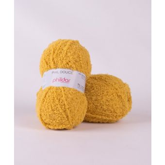 Fil à tricoter Phildar douce gold