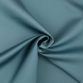 Tissu taffetas uni bleu