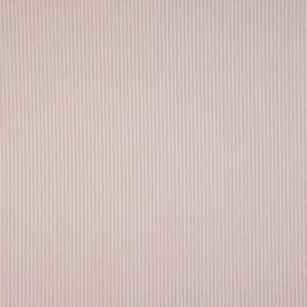 Tissu popeline coton à motifs rayures vieux rose