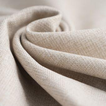 Tissu toile thermique beige