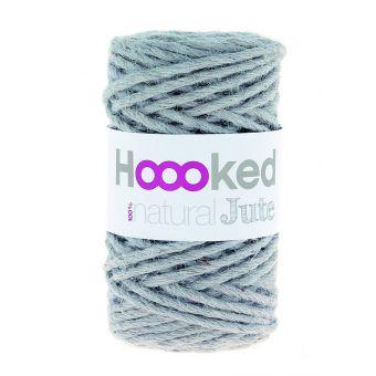 Pelote de fil de jute Hoooked gris