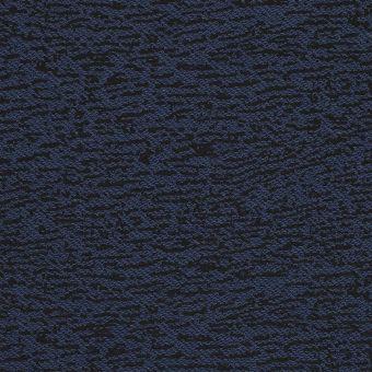 Tissu jersey noir et bleu