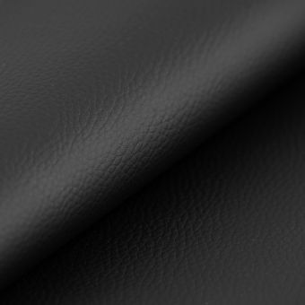 Simili cuir épais ignifugé noir