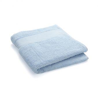 Serviette de toilette à broder 50x100cm - Bleu ciel