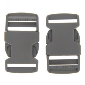 Boucles à ouverture rapide grises en plastique 30 mm