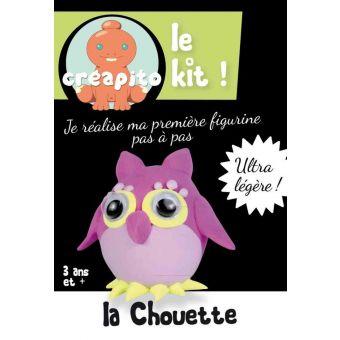 """Kit pâte à modeler kid Créapito """"La Chouette"""""""