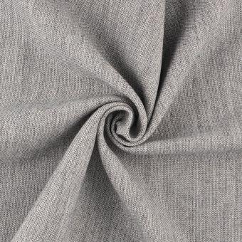 Tissu toile My Wool gris