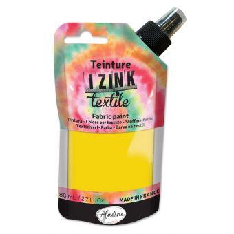 Teinture textile en spray izink camomille 80 ml