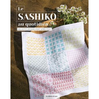 Livre Le sashiko au quotidien