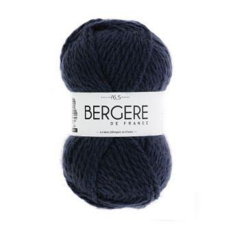 Pelote de fil à tricoter Polette Bergère de France noir