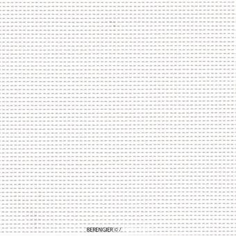 Toile grille ajourée mobilier extérieur PVC 150 cm blanc