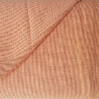 Jersey côtelé (bord côte) couleur café crème 110cm See You at Six