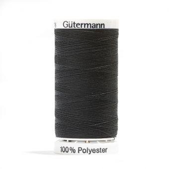 Bobine de fil polyester noir Gütermann