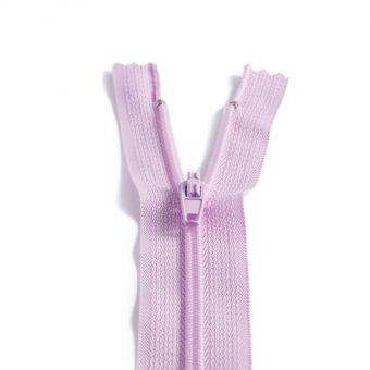 Fermeture polyester non séparable à glissière - Parme