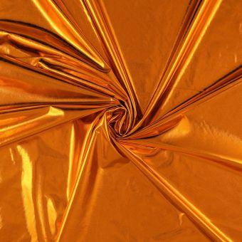 Tissu jersey laser orange