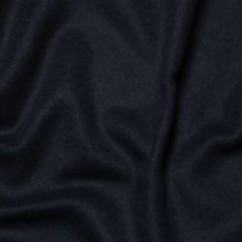 Tissu lainage manteau bleu marine uni fait en Italie