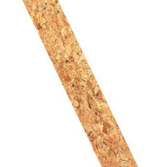 Ruban en liège paillettes dorées 2,5cm 2m