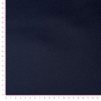 Tissu imperméable uni SAC bleu marine