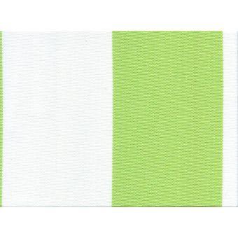 Toile unie outdoor polyskin anti-uv et Teflon vert anis 150 cm