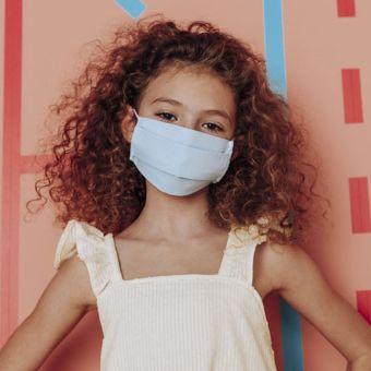 Masque tissu enfant grand public filtration supérieure à 90%