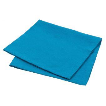 Serviette de table Essentiel bleu pétrole