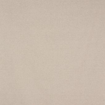 Tissu coton lin brossé beige