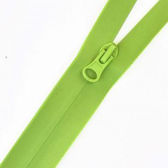 Fermeture à glissière étanche fluo vert au mètre