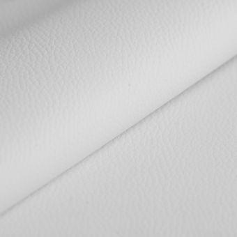 Simili cuir épais ignifugé blanc