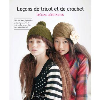 Livre Leçon de tricot et crochet