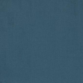 Tissu coton uni Sweetie grande largeur bleu pétrole