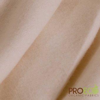 Tissu molleton lourd ProECO® bambou coton bio