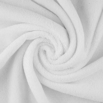 Tissu microfibre absorbante special couche blanc
