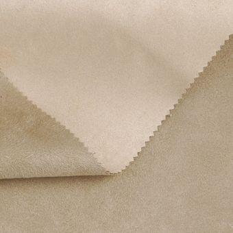 Tissu suédine double face Alaska sable beige