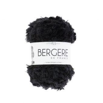 Pelote de fil à tricoter frimousse Bergère de France noir