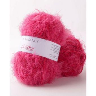 Fil à tricoter Phil Beaugency Framboise