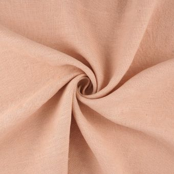 Tissu lin lavé Propriano nude