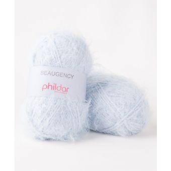 Fil à tricoter Phildar Beaugency ciel