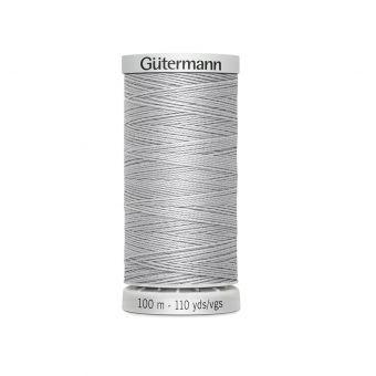 Bobine de fil extra fort Gütermann - Gris clair