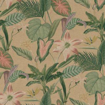 Tissu Dralon revêtement teflon motifs romantique botanique