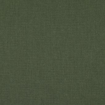 Tissu coton uni Cristina vert Thyme