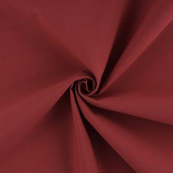 Tissu toile extérieure Hanck unie rouge grande largeur