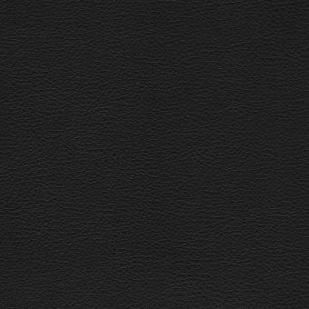 Tissu simili cuir noir pour mobilier d'extérieur et d'intérieur