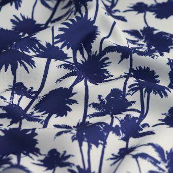 Tissu d'extérieur imprimé palmier